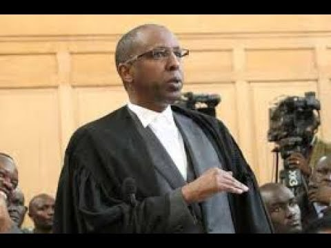 Lawyer Ahmednasir Abdullahi's submission on the validity of the two petitions before the court