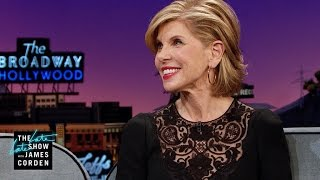 Michael sheen's manhood is named after christine baranski