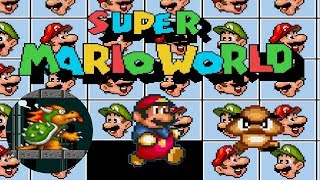 Super Mario Bros. / World • Sega Genesis/Mega Drive Homebrew