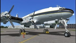 FSX HD - Just Flight Constellation Pro