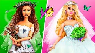 Rich Doll vs Broke Doll / 10 Barbie Wedding Ideas