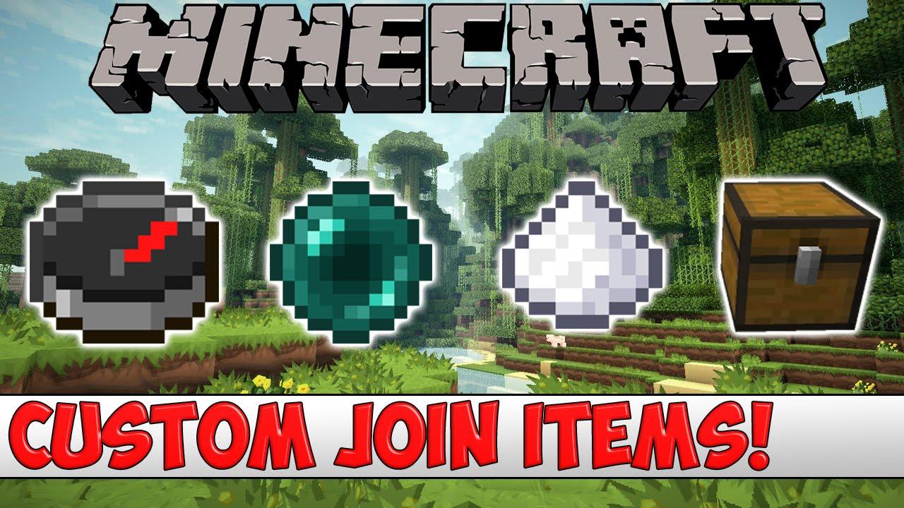 Minecraft Plugin Tutorial - Custom Join Items