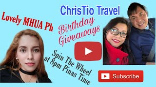 BIRTHDAY SPIN THE WHEEL  GIVEAWAY