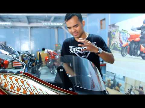 Open House Showroom Victory & Indian Motorcycles di Jakarta, Indonesia