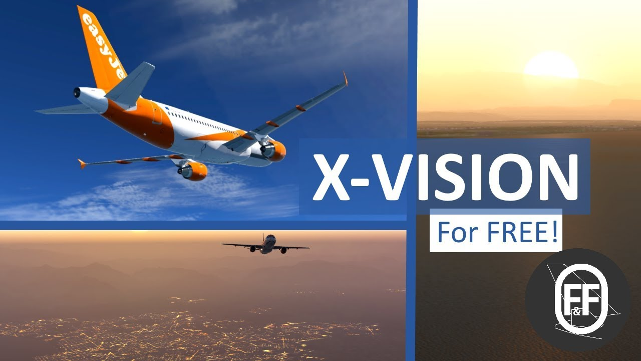 xVision For X-PLANE 11 Promo - Better Than ReShade? (FREE!)