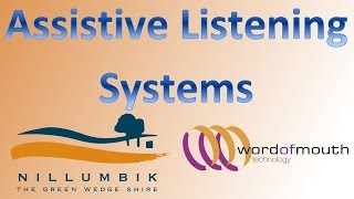 Permanent Assistive Listening Systems installed in Nillumbik Shire Council