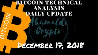 Bitcoin technical analysis - a small ripple in the ocean[December 17, 2018]