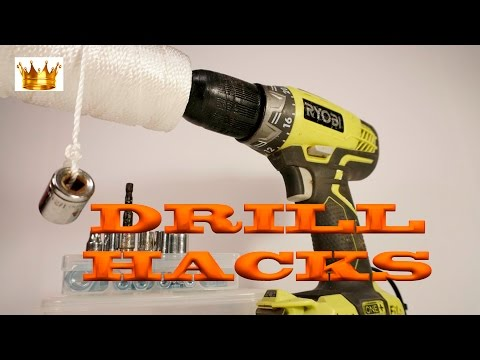 TOP 7 THE BEST ELECTRIC DRILL LIFE HACKS, Different ways to use Drill