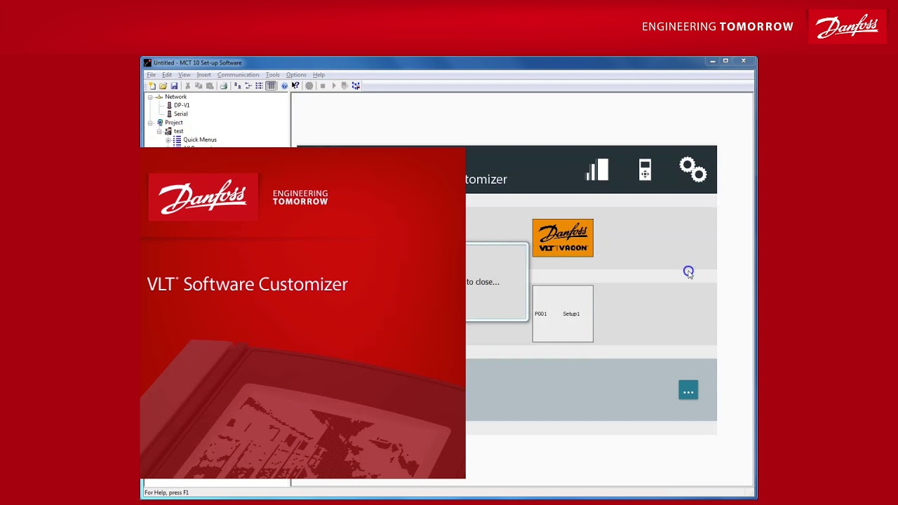 Introduction To The Vlt Software Customizer Of Mct 10 400 By Danfoss Wiring Diagram Aqua Drives