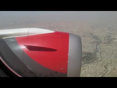 **Awesome** Royal jordanian 787-8 Dreamliner 2180p Landing in Amman - City/Land view - Super HD