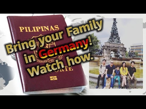 Family Reunion Visa in Germany (Taglish) ∣ GerMangyan