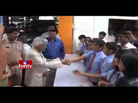 Why APJ Abdul Kalam to Interact with Students? | Students Motivational Speeches | HMTV