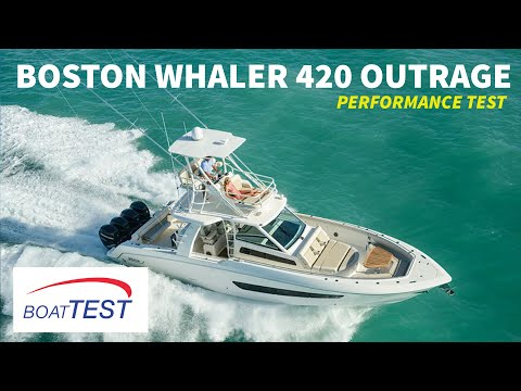 Boston Whaler 420 Outrage Test 2015- By BoatTest.com