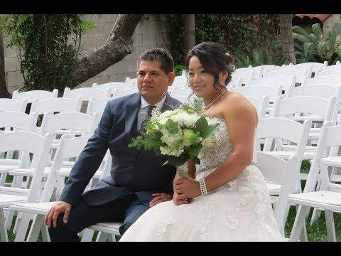 Wedding Ceremony for Weili Hao & Antonio Sanchez