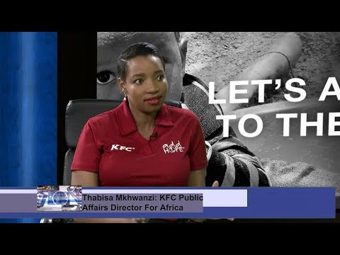 Adding Hope to World Hunger Month - KFC Public Affairs Director in Africa, Thabisa Mkhwanazi