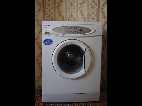 Как одеть ремень на стиральную машину самсунг видео