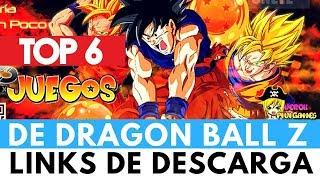 TOP 6 JUEGOS DE DRAGON BALL Z PARA PC | Verox PiviGames