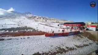 kayseri havadan ekim erciyes kayak merkezi toymedya