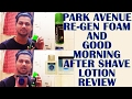 Best Shaving Cream And Aftershave Lotion Park Avenue Review