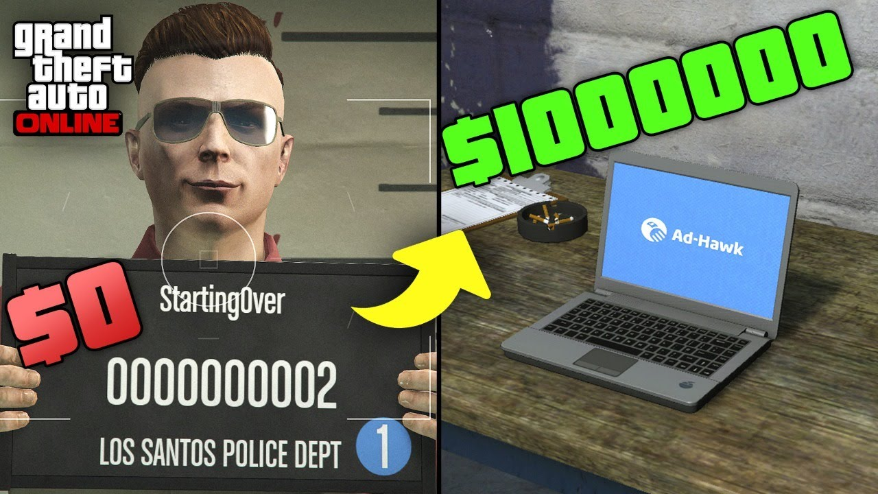 Starting Over in GTA 5 Online | BROKE TO RICH S2E2 (Make Money Fast After Account Reset)
