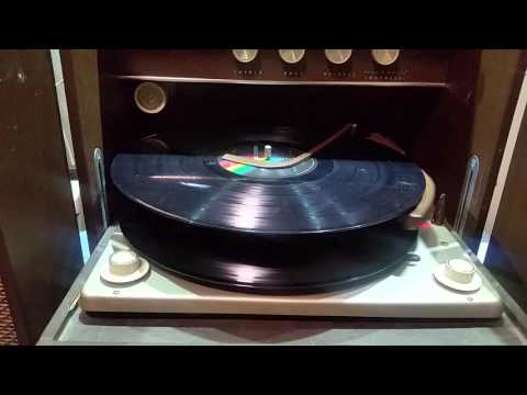 Voice of Music Record Player cycle model 359 1963
