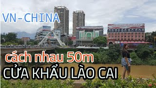 Vùng biên giới bình yên hay sóng ngầm tại cửa khẩu Lào Cai p2 #hnp