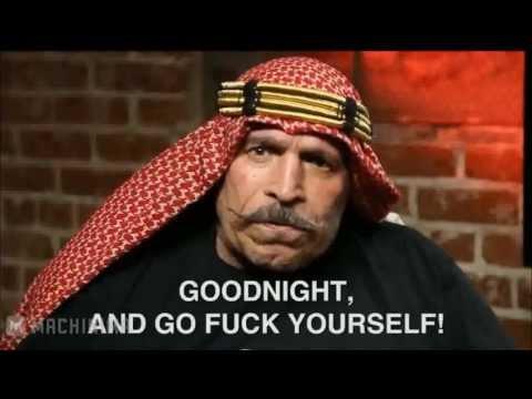 Iron Sheik - Goodnight & Go Fuck Yourself - YouTube