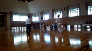 2014.11.16 全日本大学オープン 青山倫郎 一回戦 青山倫子 動画 25