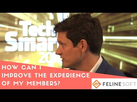 Ralph Johnson from FelineSoft reveals their TED-style topic at TechSmart 2016