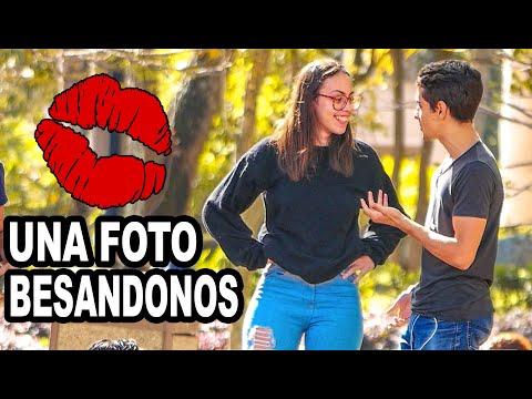 💋UNA FOTO BESANDONOS | Siendo raro en publico 3