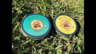 REVIEW Bear Blend Herbal Formulas: OG & Vizion Smoking And Drinking Herbal Tea Blends