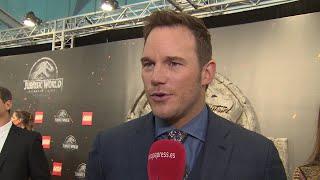 Chris Pratt levanta pasiones en la premiere en Madrid