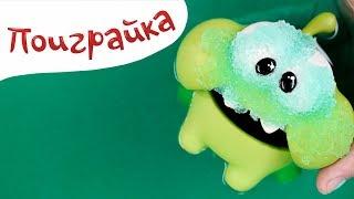 Ам Ням и Волшебные Разноцветные БОМБОЧКИ для ванны Gelli Baff - РАСПАКОВКА - Поиграйка с Егором