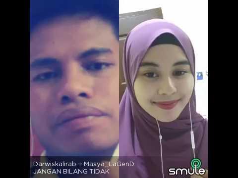 Cover Jangan Bilang Tidak By Masya Feat Darwis Kalirab