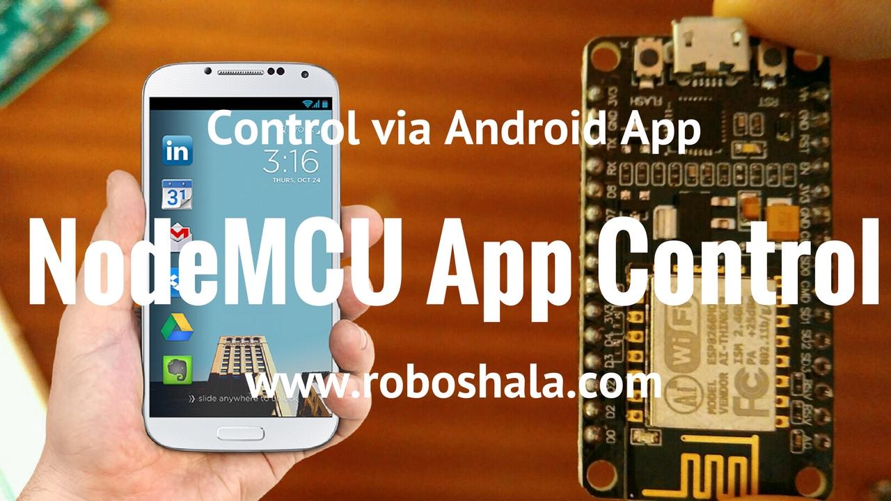 3 NodeMCU Control using App