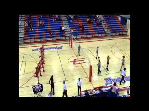 Volleyball: Evanston High School vs  Kelly Walsh High School Wyoming 10/19/13