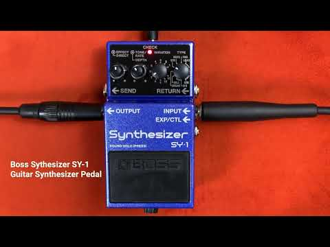 BOSS SY-1 Guitar Synthesizer Pedal Demo