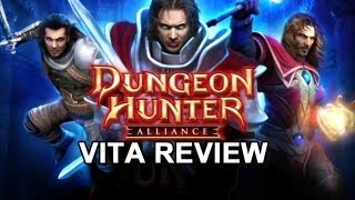 Dungeon Hunter Alliance Review (PS Vita)