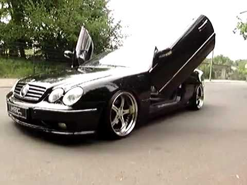 mercedes benz lambo doors w215 cl600 with mec design. Black Bedroom Furniture Sets. Home Design Ideas