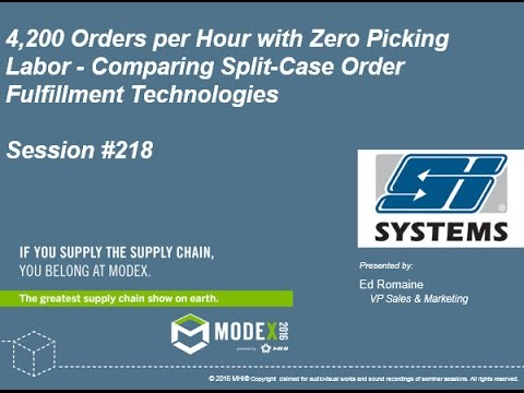Order Fulfillment Systems Comparison – Up to 4200 Orders per Hour