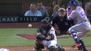 NYM@ARI: T.J. Rivera collects four hits vs. D-backs