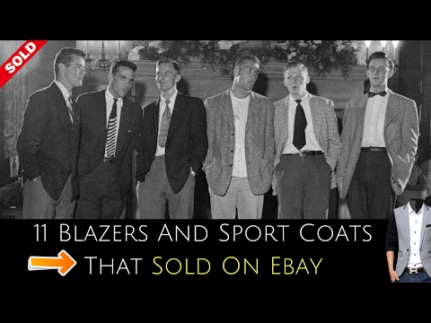 11 Blazers And Sport Coats That Sold On Ebay For Ridiculous Profits