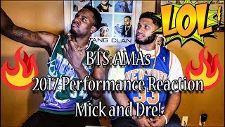 BTS: DNA Live Performance 2017 AMA REACTION!! MICK AND DRE!! MUST WATCH! MP3