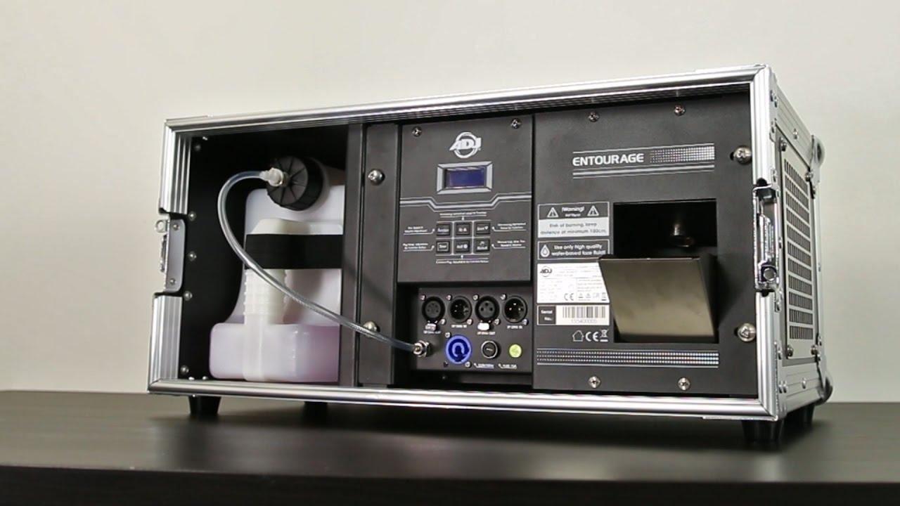 Download ADJ Entourage Pro Faze Machine | Review