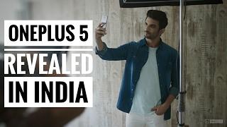 oneplus 5 revealed in india design camera color price