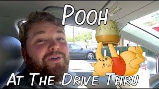 Pooh at the Drive Thru