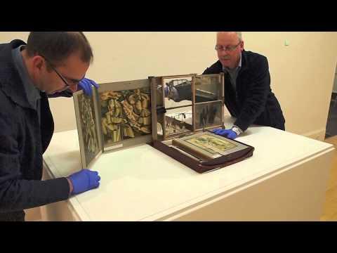 Duchamp's 'La Boîte-en-Valise' [Box In A Suitcase] Installation Video