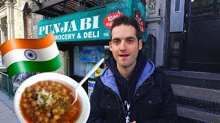 The Amazing $5 Indian Lunch Hidden In An NYC Grocery Store ! 😱 (Living Cheap in New York)
