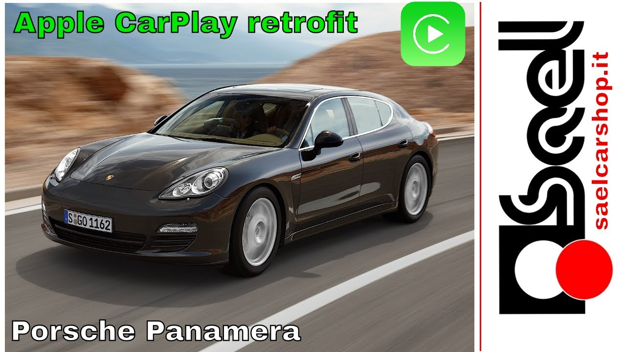 Porsche PCM 3 1 Apple Carplay / Android auto retrofit kit