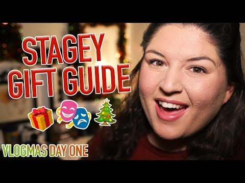 Christmas Gift Guide for a Musical Theatre Fan 🎁 VLOGMAS #1